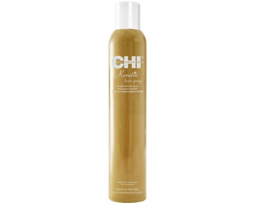 CHI Keratin Flexible Hold Hair Spray Лак для волос CHI Кератиновый