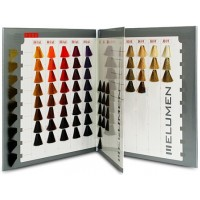 Goldwell Elumen color card Палитра цвета