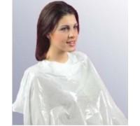 Пеньюар для окрашивания волос DOMINO Punti di Vista белый одноразовый упаковка/30 штук