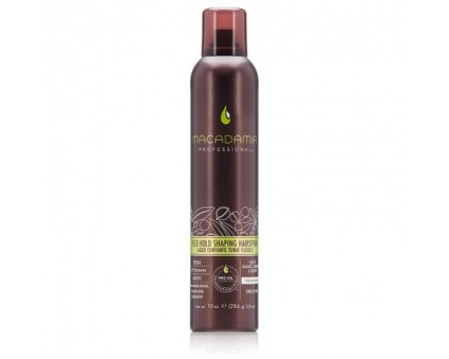 Macadamia Flex Hold Shaping Hairspray Финиш-спрей