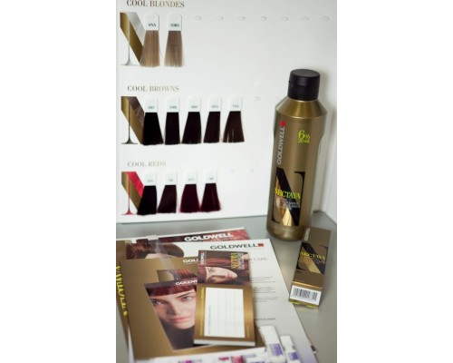 Goldwell Nectaya color card Палитра цвета