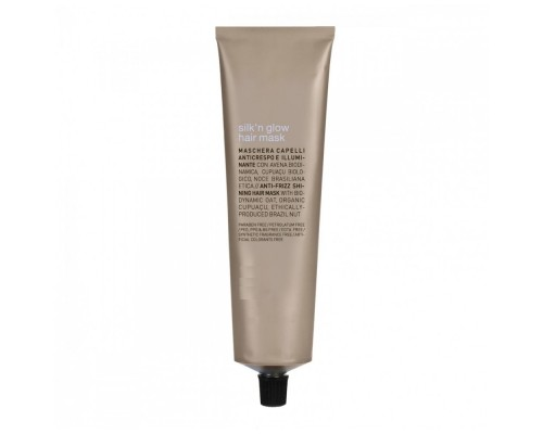 Organic Way Rolland Silk'n Glow Hair Mask Маска Organic Way для блеска и гладкости волос