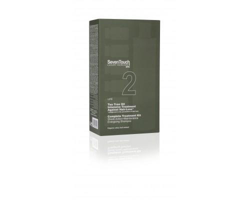 2.Seven Touch 2 Shampoo + Shock Action + Maintenance Комплекс средств против выпадения волос с маслом чайного дерева