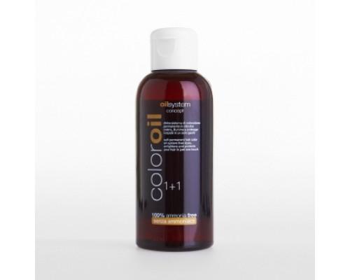 Color Oil System Concept Жидкая масляная безаммиачная краска Color Oil для волос на основе оливкового масла и белого чая